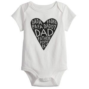 NWT DaDa, Daddy, Dad, Pops, Father Slogan Shirt